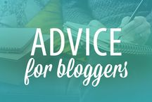 FOR BLOGGERS / Helpful resources and blog posts for bloggers. / by Melody | finicky designs
