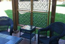 Porch Trellis