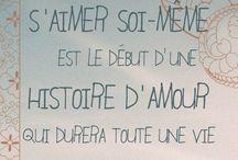 Citations / Mots sacrés / Le pouvoir des mots.