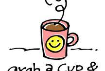Coffee, tea, or soda??? / by Mickey Betz