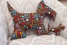 My scottie dogs / My scottie dog decorations - for sale if anyone is interested
