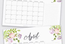 Amistyle Printable Planners / Stylish printable planners to get focused, organised and more effective. If you want to plan your life and work on a stylish organized way subscribe to the weekly freebies: bit.ly/pin-subscribe