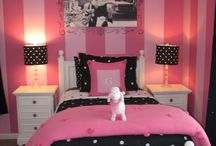 Black and Pink Bedrooms