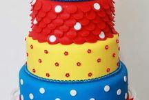 bolos fake / Decoração