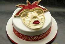 mask cakes / by Pamela Webster