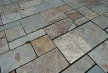 Slate patio / Slate patio pavers by Westone Slate