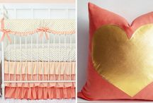 Color: Coral and Mint Inspired / Coral and Mint inspired kids rooms
