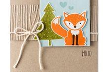 Cards - Foxy Friends Suite