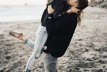 Couples beach shoot