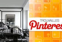 Trouvailles Pinterest: Déco noir et blanc