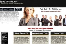 Typing At Home / Home based typing jobs for independent contractors. Includes simply cut and paste jobs, form filling and more.. Get paid per form and per project.
