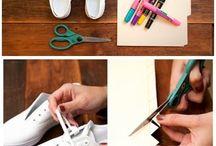sapatos pintados