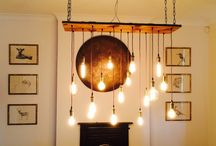 Cool Lighting Ideas / A mix of cool lighting ideas we have found and love