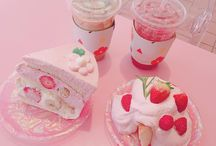 ♕ Pink foods & drinks ♕
