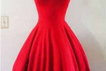 Vintage dress 50's