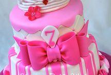 taart idee roze