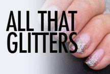 Glitter Nail Art & Nail Designs
