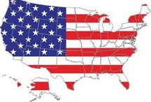 The Lower 48 (Plus 2) / America From Sea to Shining Sea - Her Heritage, History & People