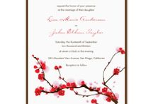 wedding invitations - Wes