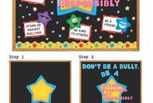 Anti bullying displays