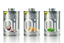 Aceite de oliva extra virgen. ENVASES. / Presentación, envases, diseño