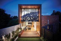 Casas populares modernas