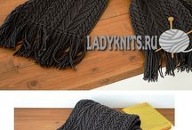 1.мужской шарф