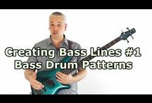 Building Bass Lines / These bass lessons give tips on building your own basslines