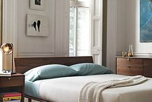 Bedroom Inspiration / Vignettes of calming and stylish bedrooms