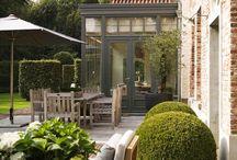 orangerier, verandor och uterum