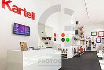 Interior for Kartell
