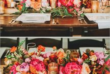 Bright + Colorful Wedding