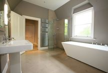 limestone and marble bathrooms