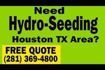 Hydroseeding Houston / Hydroseeding & Hydromulching in Houston TX