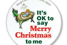 Keep Christ in Christmas / A collection of Button designs I have create for the Knights of Columbus throughout the States.