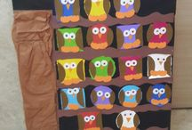 baykuş sanat etkinligi