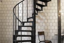 Escaliers / Mood Board - St-Etienne du Grès