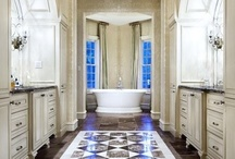 Master bath / by Sheree Burton