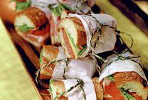 Sandes e saladas