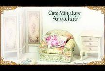 DIY miniature furnitures