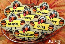 biscoitos thanksgiving