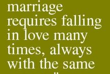 Love Quotes / Sometimes a few little words can say it all. A lovely collection of love quotes and sayings to fill your wedding day and married life with happiness.