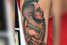 tatuajes de barberia