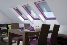 Glamour Windows - Finestra Glamour / Roof windows becomes home decor, here are FAKRO solutions for a glamor window!