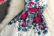šití - slavnostní šaty