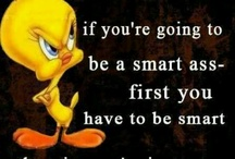 Funny & Smart / photos & quotes
