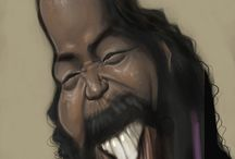 Caricature Of Barry White