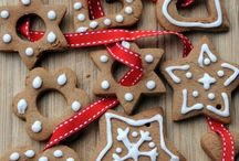 Decori glassa Natale