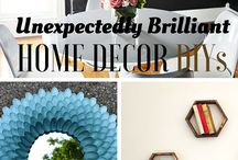 Crafty home decor