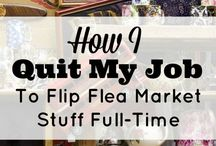 Flea Market / Ideas for getting the most from your buying and selling at flea markets and craft shows.